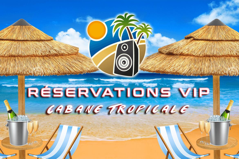 BPA Réservations VIP Cabanes Tropicales